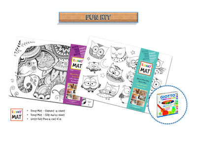 FUNNY MAT - FUN KIT - Gifted Products