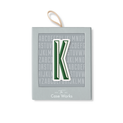 LETTER STICKER K - Gifted Products