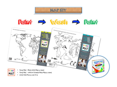 FUNNY MAT - MAP KIT - Gifted Products