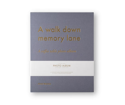 PHOTO ALBUM-MEMORY LANE - Gifted Products
