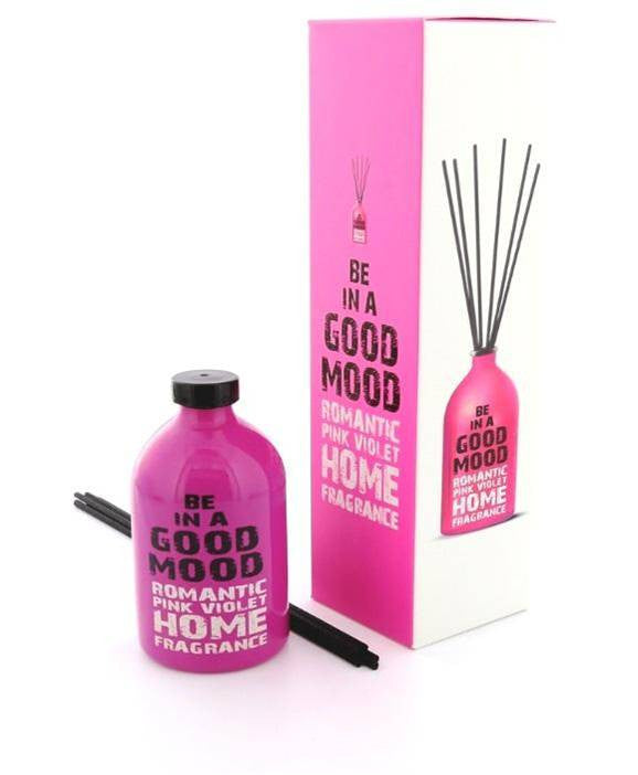 Be In A Good Mood Romantic Pink Violet Home Fragrance - Gifted Products