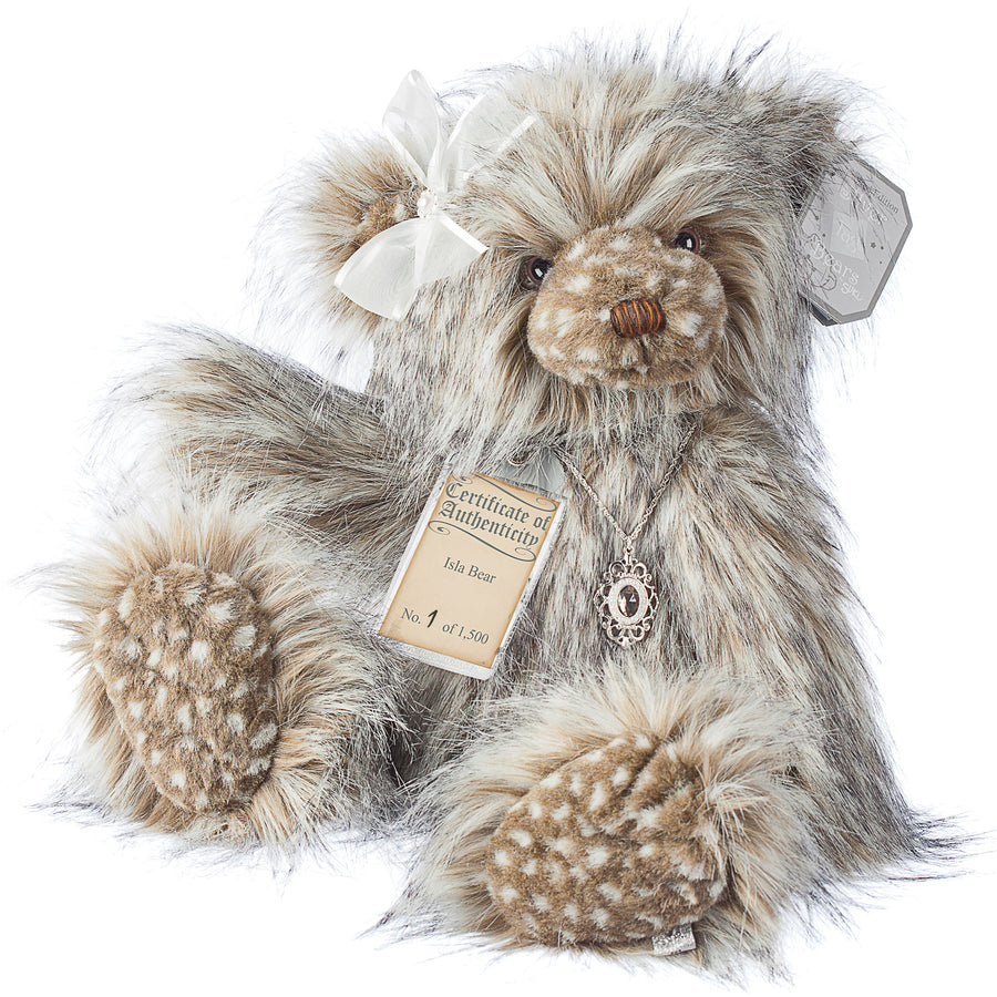 Silver Tag Bear Isla | Limited edition collectible Silver Tag Bear by Suki - Gifted Products