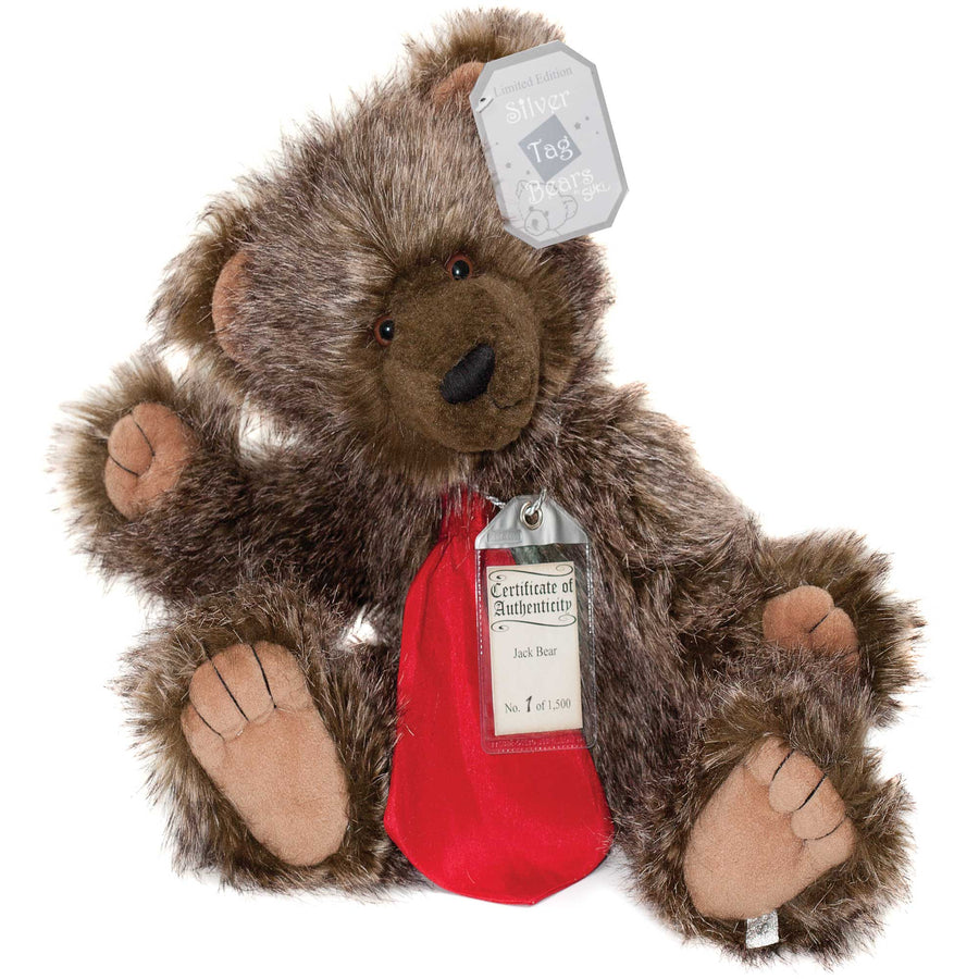 Silver Tag Bear Jack | Limited edition collectible Silver Tag Bear by Suki - Gifted Products