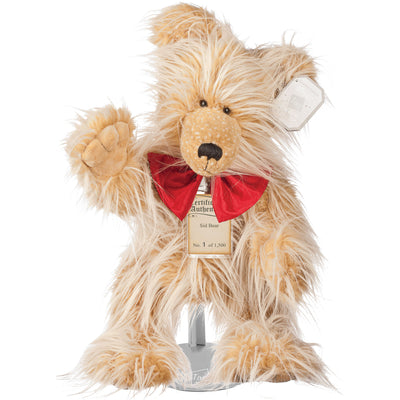 Silver Tag Bear Sid | Limited edition collectible Silver Tag Bear by Suki - Gifted Products