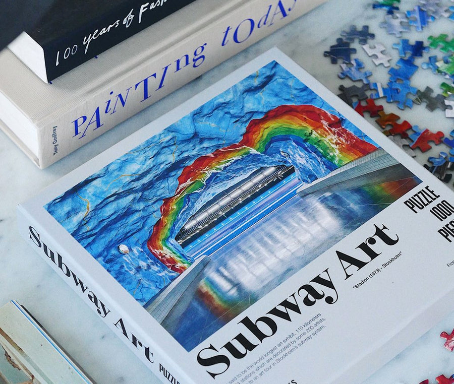 PUZZLE- SUBWAY ART RAINBOW - Gifted Products