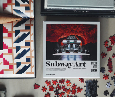 PUZZLE- SUBWAY ART FIRE - Gifted Products