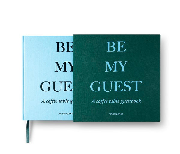 GUEST BOOK GREEN/BLUE - Gifted Products