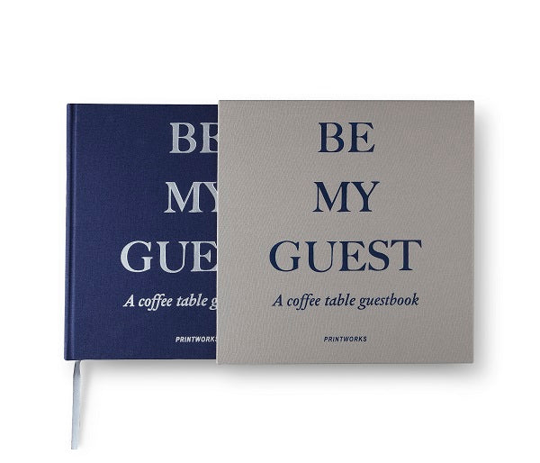 GUEST BOOK GREY/NAVY - Gifted Products