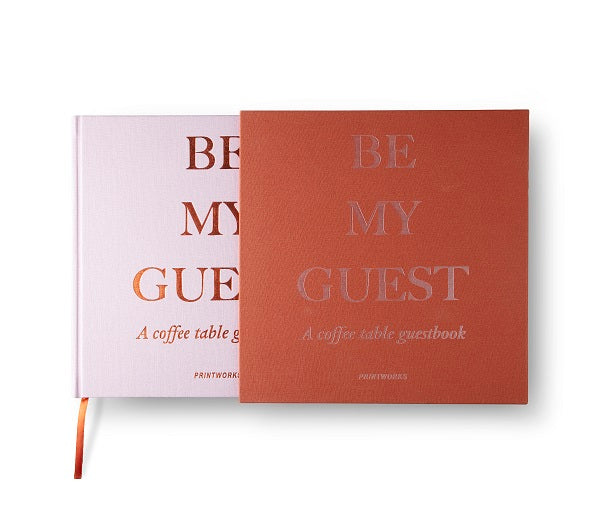 GUEST BOOK RUST/PINK - Gifted Products