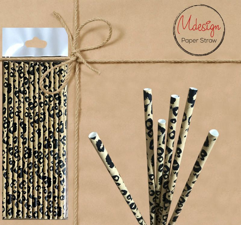 Paper Straw - Pattern - Gifted Products