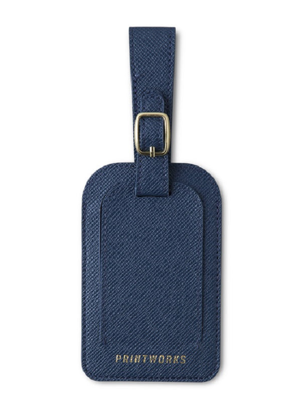 LUGGAGE TAG BLUE - Gifted Products