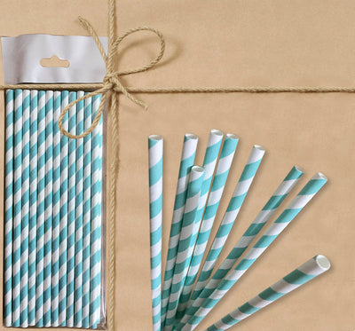 Paper Straw - Striped - Gifted Products