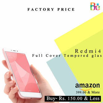 Xiaomi India Redmi 4 Tempered Glass Online India [Improved model July 2017]