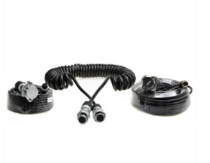 Heavy Duty Trailer Cable Coil and 4PIN Connectors