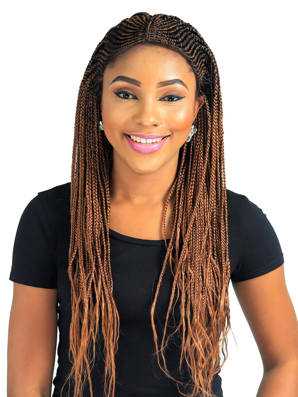 Cornrow Fulani Braid Wig Color 30 22 Inches Wow Braids