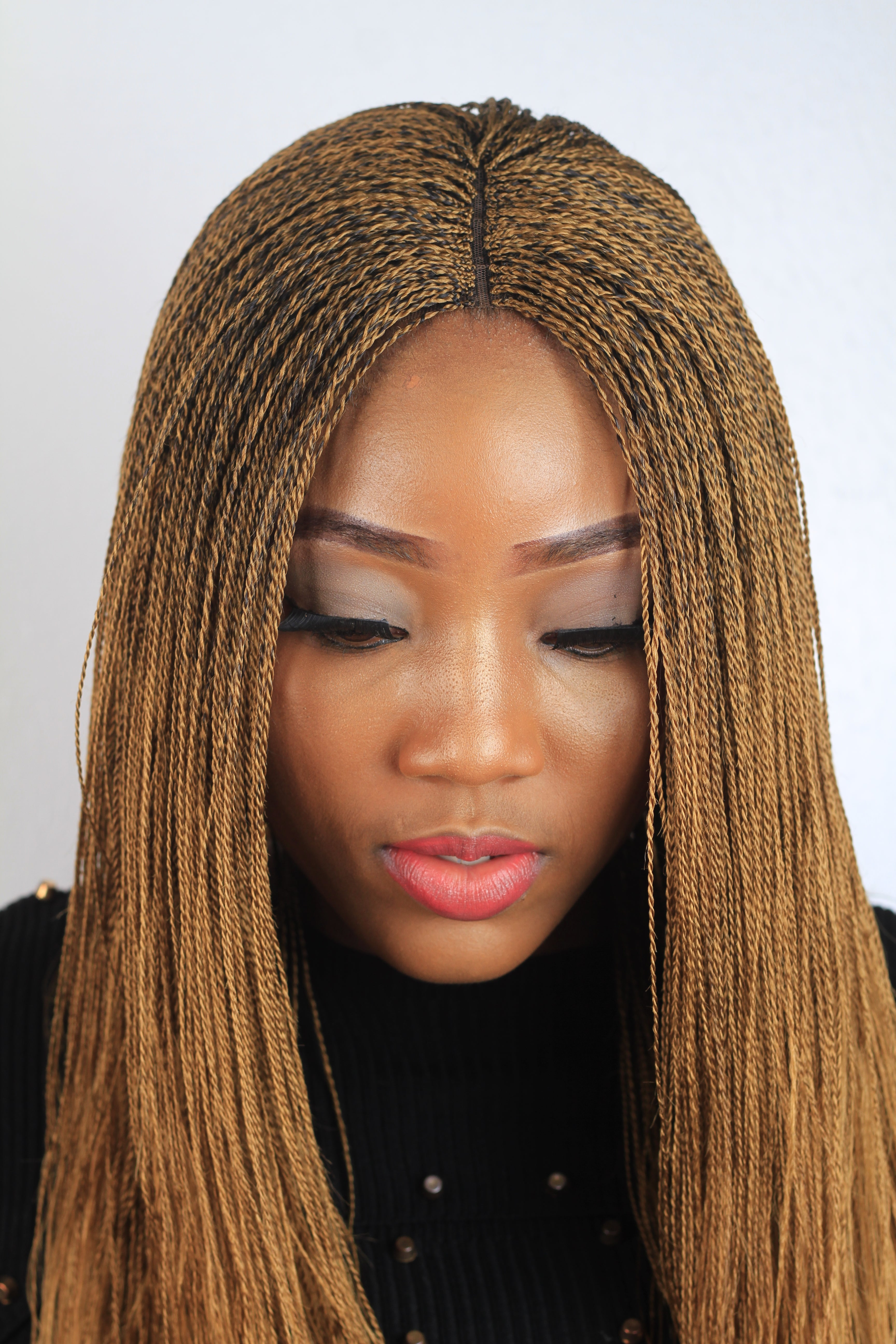 Micro Million Twist Wig Color 27 18 Inches Wow Braids