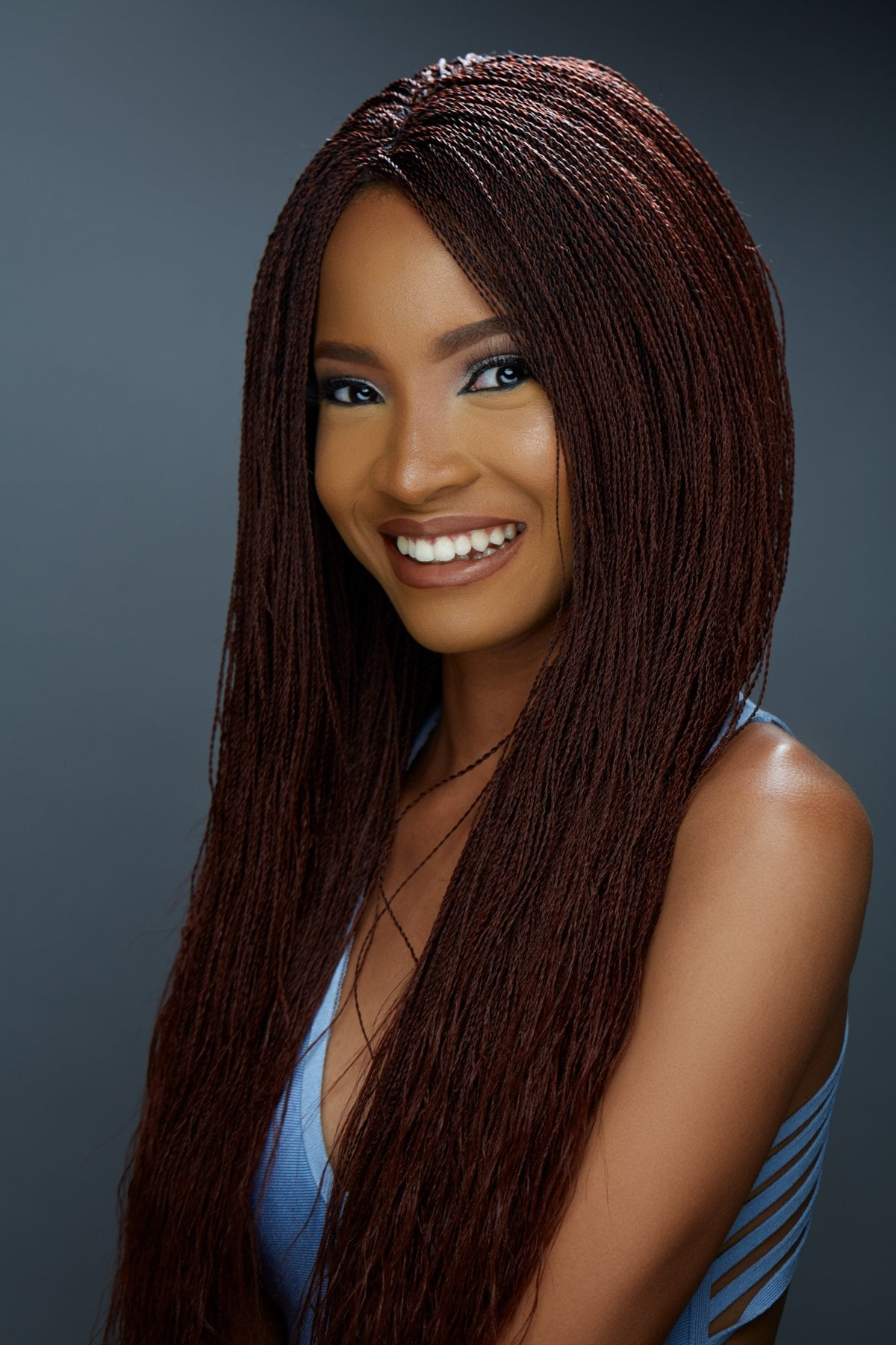 Micro Million Twist Wig Color 1 35 Mix 22 Inches Wow Braids