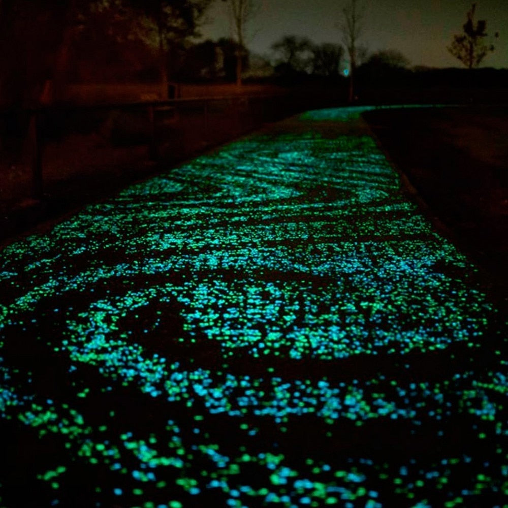 Glow-in-the-Dark Tuin Steentjes