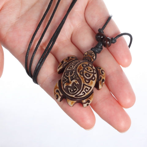 Image of Tribal Schildpad Ketting