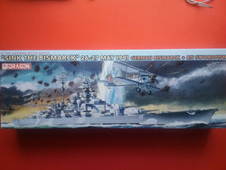 """SINK THE BISMARCK"" 26-27 MAY 1941 Bismarck + Rn Swordfish"