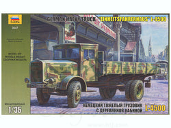 German Heavy Truck L-4500 pienoismalli