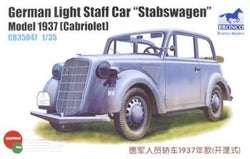 "German Light Staff Car ""Stabswagen"" Model 1937 pienoismalli"