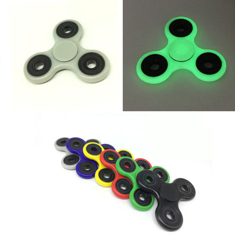 6 kinds of color Tri-Spinner Fidget Toy: Hand Spinner For Autism and ADHD Rotation Time Long Anti Stress Toys