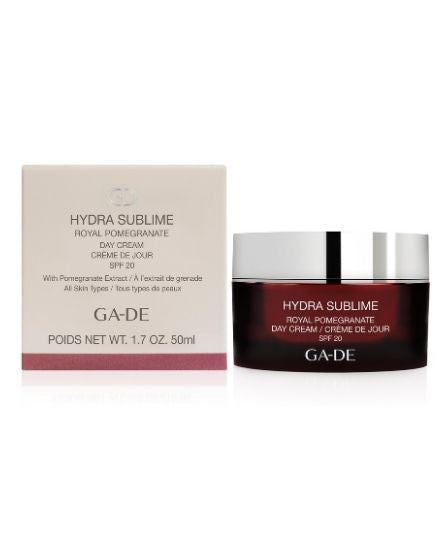 hydra-sublime-royal-pomegranate-day-cream-package