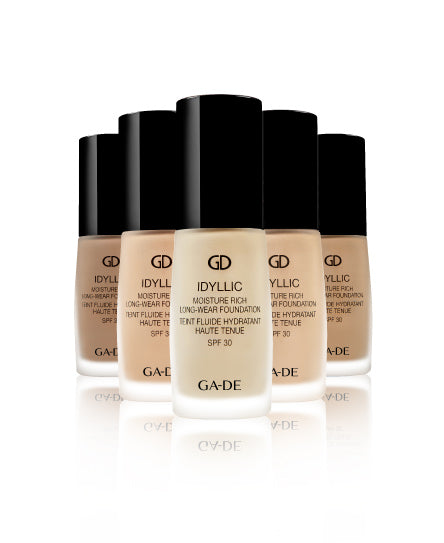 idyllic foundation all shades