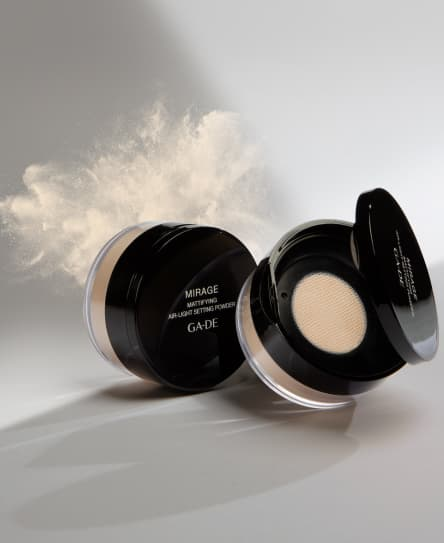 Mirage mattfying air-light setting powder