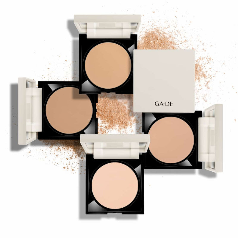 longevity second skin pressed powder all shades