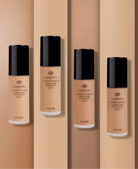 longevity collagen foundation styled