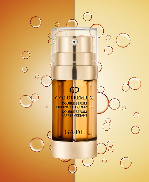 gold premium double serum