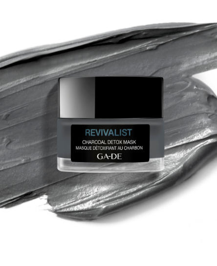 revivalist charcoal detox mask texture