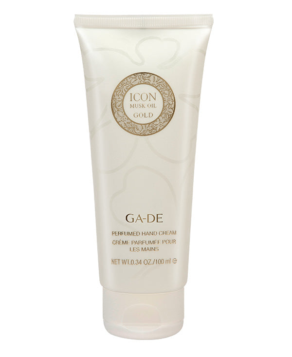 icon musk oil gold hand cream 100 ml