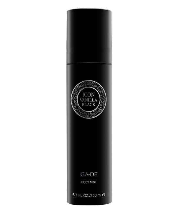 icon vanilla black body mist 200 ml