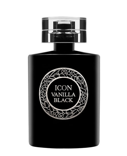 icon vanilla black eau de parfum spray 100ml