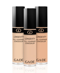 all colors of longevity full coverage concealer
