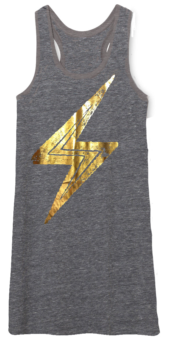 ⚡️ Golden Bolt Tank Dress ⚡️