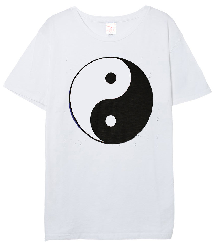 Black and White Yin and Yang