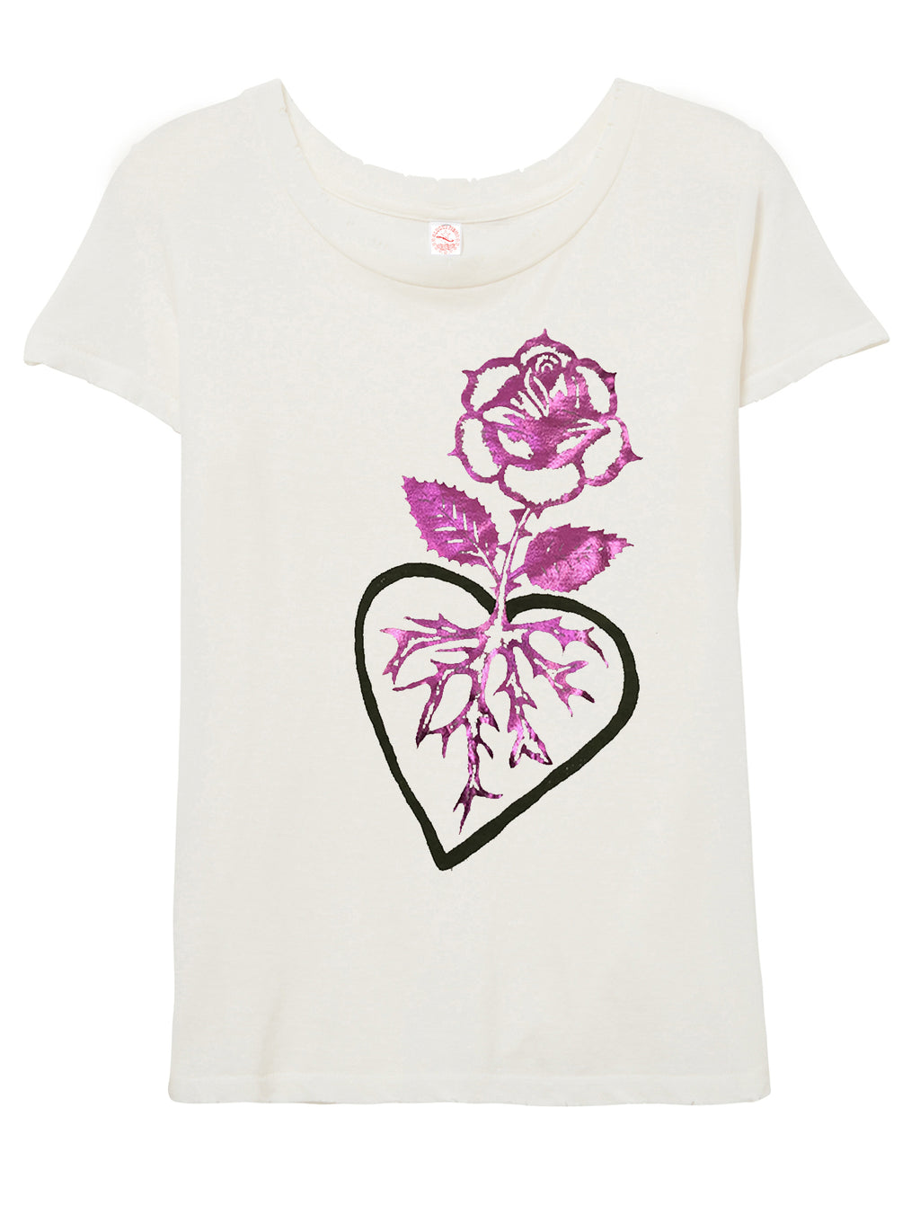 "Rooted in Love ""Destroyed T-shirt"""