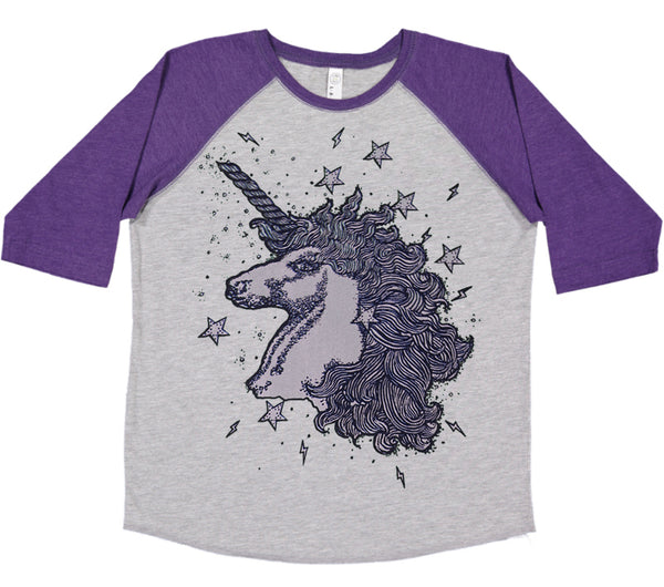 Unicorns & Stardust Baseball t-shirt