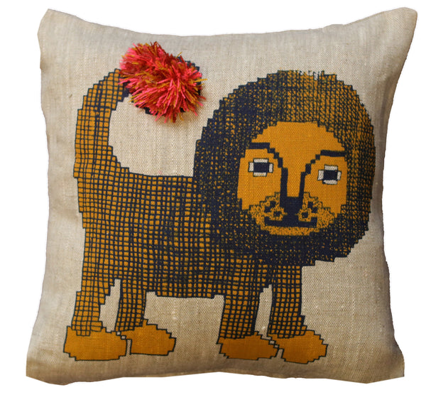 Little Leo Cushion