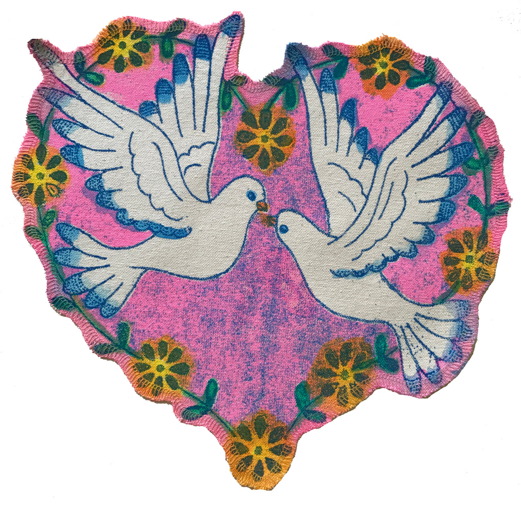 Love Birds Patch