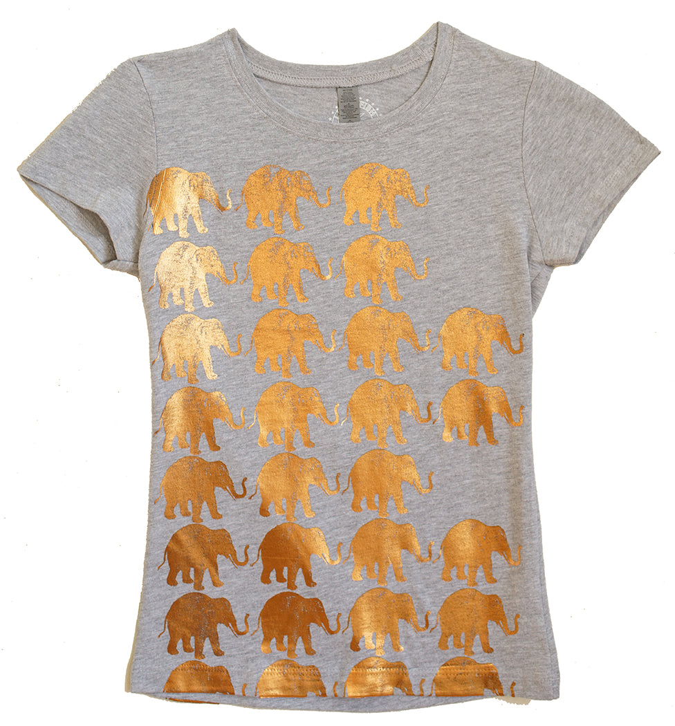 Elephants on the March! 1 in size 3/4, 1 in size 6 -on sale now $28