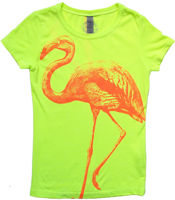 Neon Flamingo Only 1 left size 4/5 . On sale now. Was $38 now $24