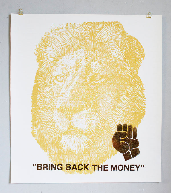Bring back the Money Poster