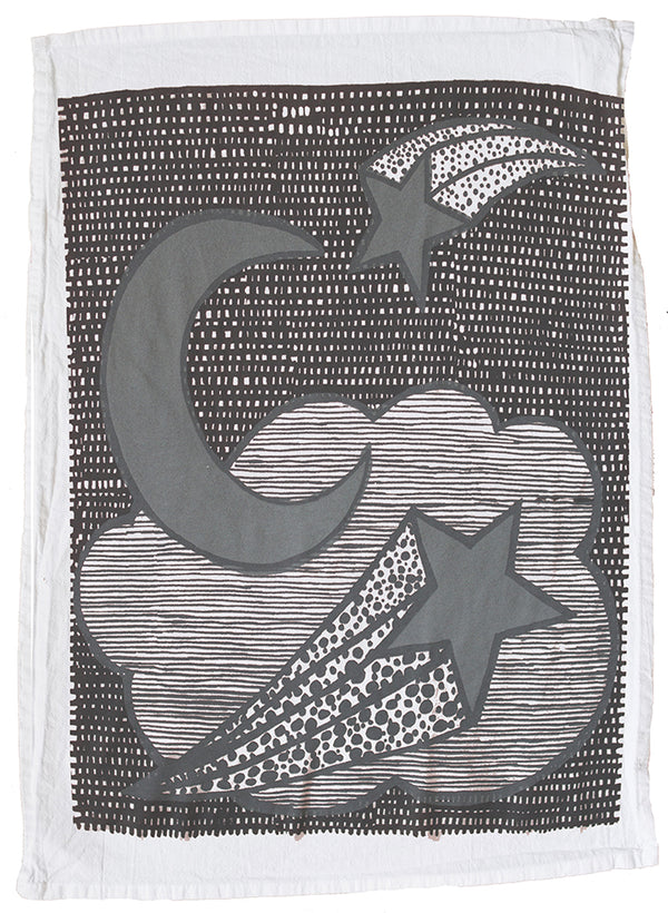 Night Sky Tea Towel