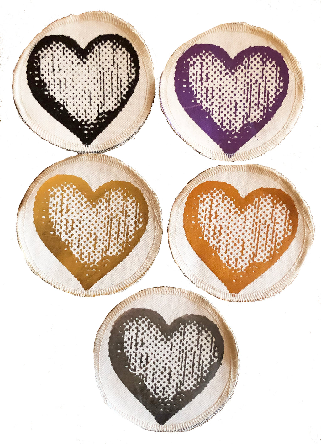 Heart patches.