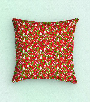 Baxter Mill Holiday Festive Dots Red Fabric